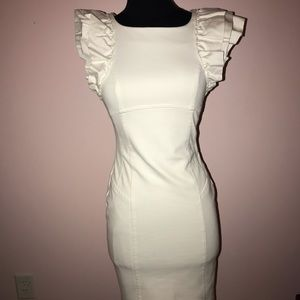 Ted Baker NWOT white midi dress
